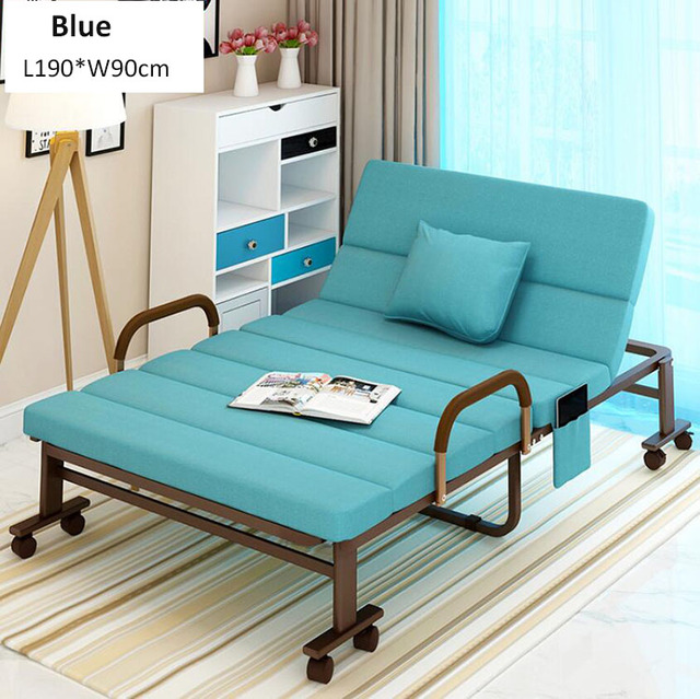 Luxembourg Lounge Stoel.Folding Bed Chair For Home Office Hospital Relaxing Sleeping