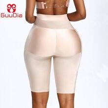 Guudia cintura das mulheres bunda levantador barriga controle calcinha cintura alta hip acolchoado calcinha corpo shaper coxa mais magro shapewear calcinha brie