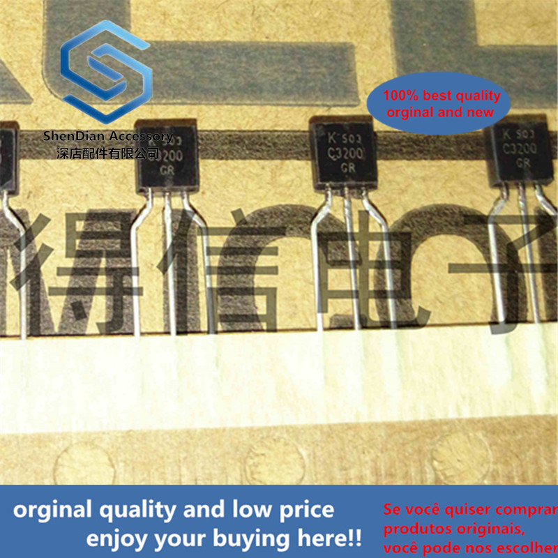 30pcs 100% Orginal New KTC3200GR C3200GR C3200 TO-92 Real Photo