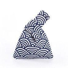 Bag Handbag Lunch-Box Ashion Japanese-Style Cotton Linen Outdoor Cloth-Printed Shoulder