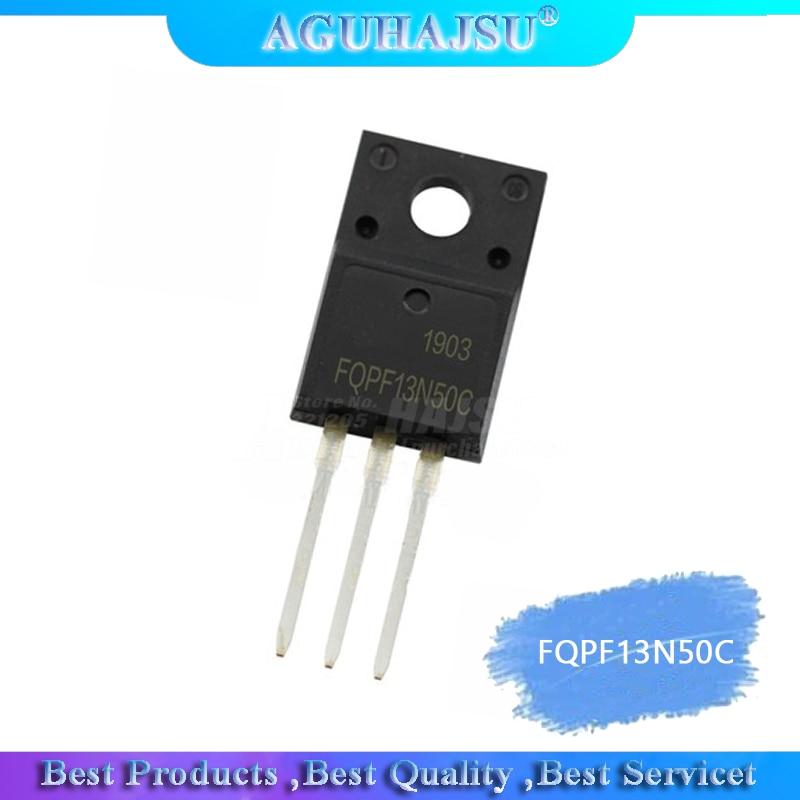 10pcs/lot New FQPF13N50C TO-220F 13N50 13A 500V 13N50C Liquid Crystal Field Effect Tube