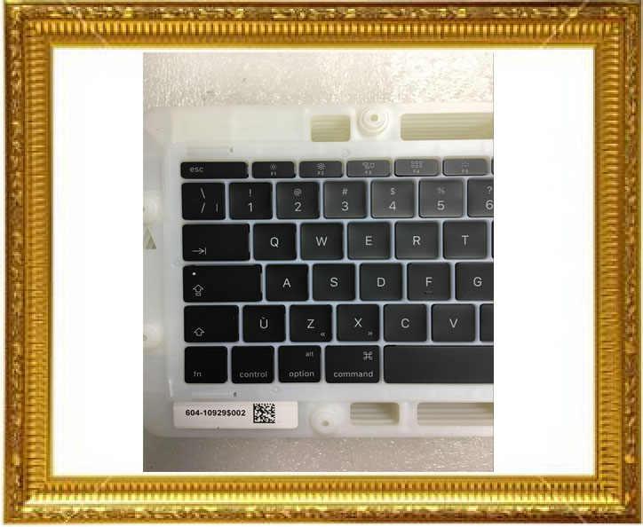 """אמיתי חדש keybord keycaps עבור Macbook Pro 13.3 """"רשתית A1708 מקלדת מפתחות מפתח כובע Keycap קנדה סטנדרטי מאוחר 2016 אמצע 2017"""