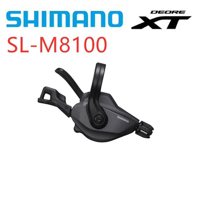 SHIMANO <font><b>XT</b></font> <font><b>M8100</b></font> <font><b>12</b></font>-speed MTB Bike bicycle Shiftet Lever SL-<font><b>M8100</b></font> Shift Lever Derailleurs image