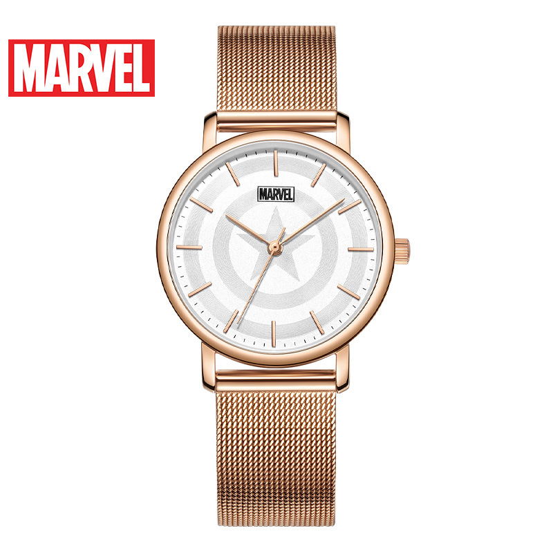 Disney Marvel Quarzuhr Gürtel Casual Persönlichkeit Student Wasserdichte Uhr Frauen Uhren Fashion & Casual 3Bar Schnalle Legierung - 2