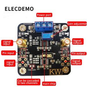 Image 2 - Opa1611 módulo de baixa potência precisão operacional amplificador áudio pré amplificador op amp função demo placa