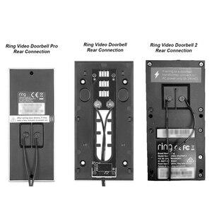 Image 2 - Адаптер питания для беспроводного видеодомофона с Wi Fi, штепсельная вилка стандарта США, Великобритании, 18 в, трансформатор переменного тока, зарядное устройство, IP, видеодомофон 110 240 В