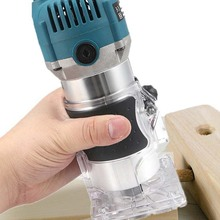Router Wood Slotting-Trimming-Machine Electric Trimmer Engraving Us-Plug Milling 800W
