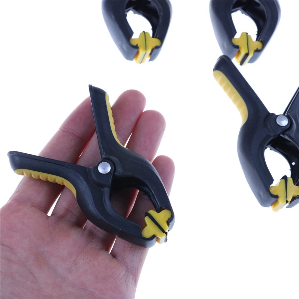 4 /5/6 /10pcs Plastic  2inch Plastic Clip Fixture Fastening Clamp For Mobile Phone Tablet Glued LCD Screen Repair Tools