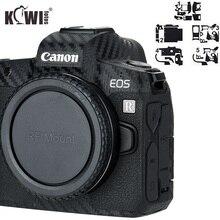 Анти-Царапины Камера тела крышка 3M Стикеры протектор для цифровой однообъективной зеркальной камеры Canon EOS R анти-скольжение держатель с креплением для кожи защитный щит пленка из углеродного волокна