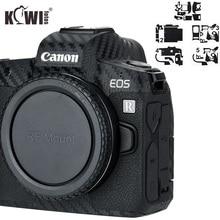 Anti Scratch Camera Body Cover 3M Sticker Protector for Canon EOS R Anti Slide Grip Holder Skin Guard Shield Carbon Fiber Film