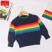 цена на baby boys girls knitting sweaters fashion children clothes cute toddler spring autumn sweater print kids clothing