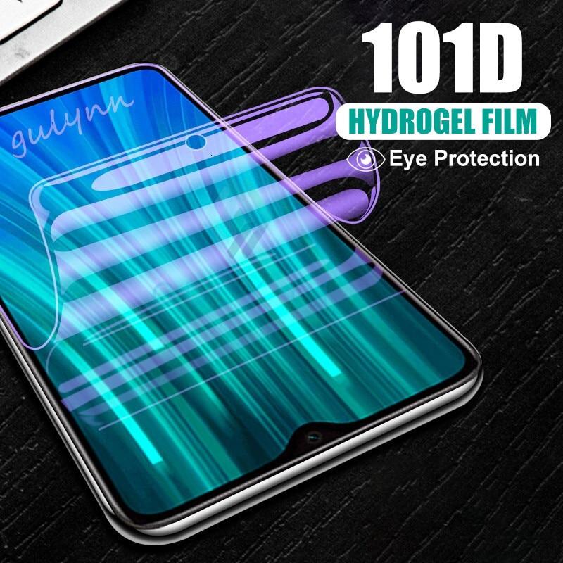 101D анти-синий светильник, Гидрогелевая пленка для защиты экрана для Xiaomi Redmi 8A 8 Note 7 8 6 5 K20 Pro Mix 2S 3 9 T, защитная пленка