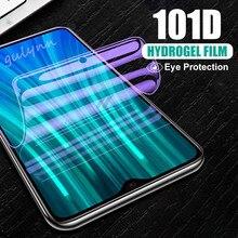 101D защита экрана от синего света Гидрогелевая пленка для Xiaomi Redmi 8A Note 9 7 8 6 5 K20 Pro Mix 2S 3 9T защитная Пленка чехол
