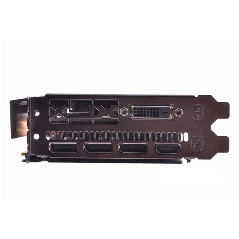 Видеокарта XFX RX 480, 4 Гб, AMD Radeon RX480, GPU, графические карты 4 Гб, PUBG, Настольная компьютерная игровая карта, видеокарта, не Майнинг-2