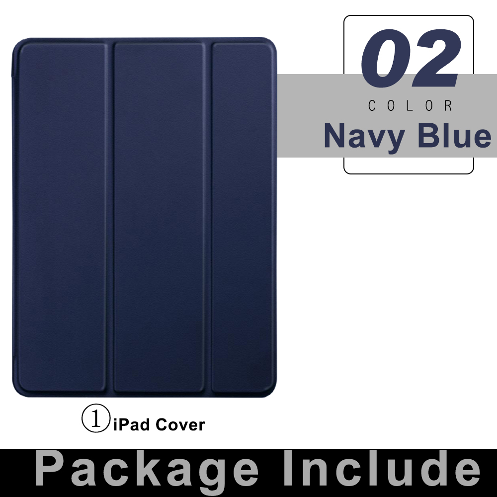 1 Navy Blue Yellow For iPad Pro 11 Flip Tablet Case 2021 Stand Smart Cover Funda For iPad pro 11