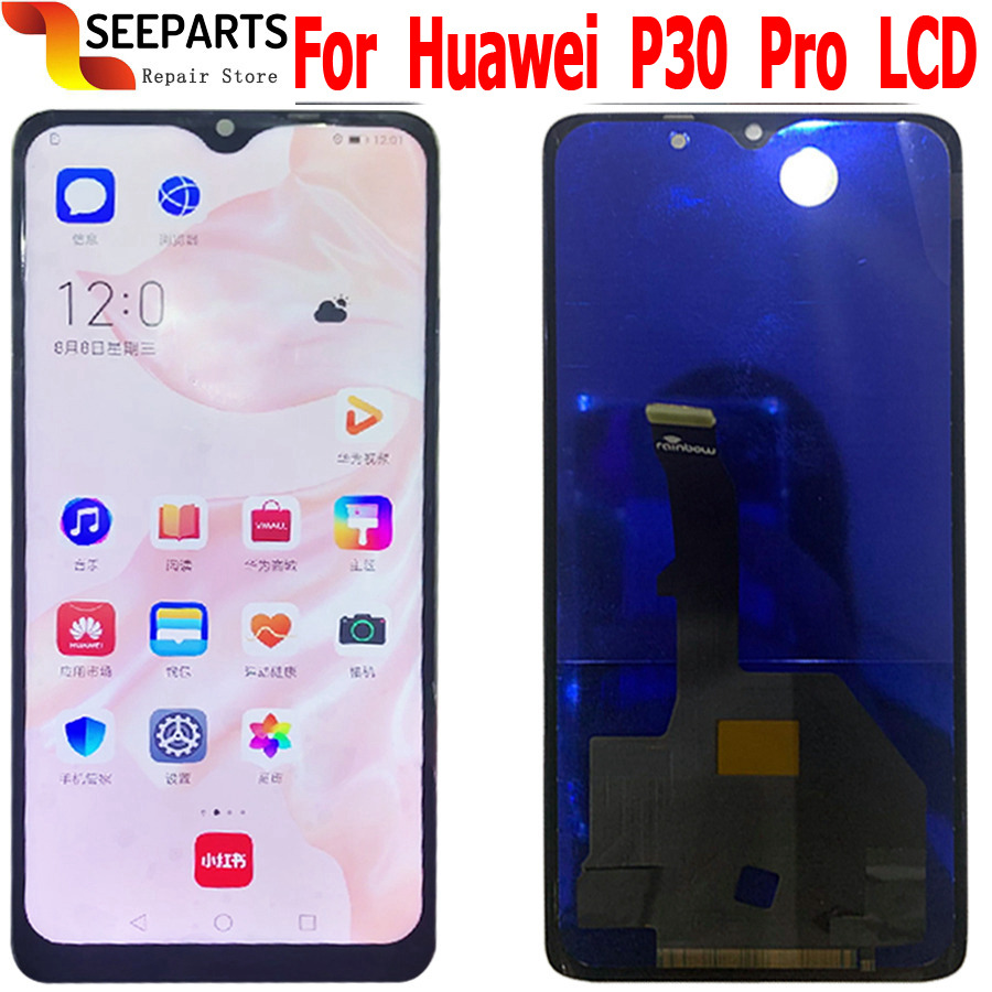 TFT For Huawei P30 Pro LCD Touch Screen Digitizer Assembly Replacement For Huawei P30 Pro LCD Display VOG-L29 VOG-L09 VOG-L04