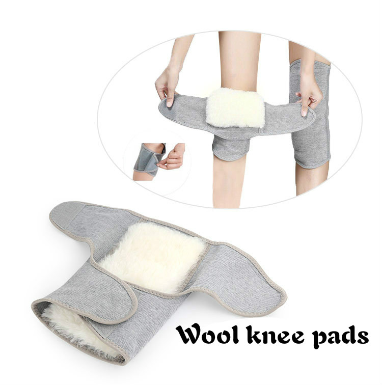 Kneeped Men Women Badminton Protege Pieds Femme Bande Anti Frotement Cuisse Keep Warm Thickening Fur One Cashmere Knee Sleeve