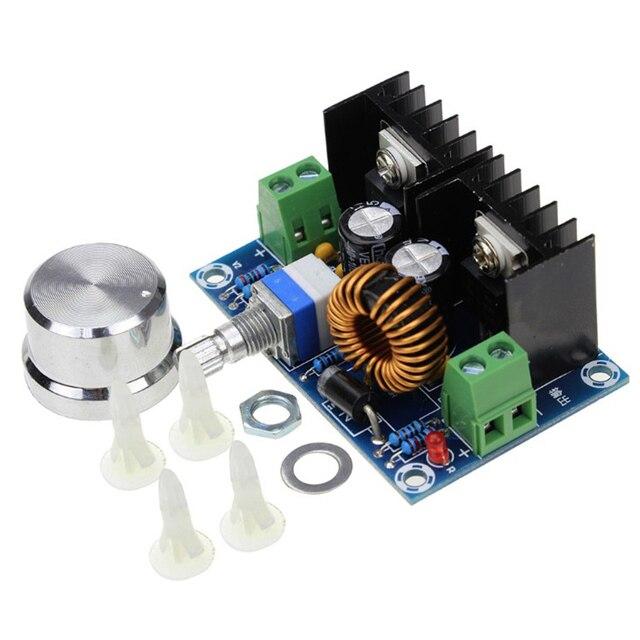 DC4-40V PWM Adjustable Voltage Regulator Step-Down  Power Supply Module Adjustable 4-40V To 1.25-36V Step Down Board 8A