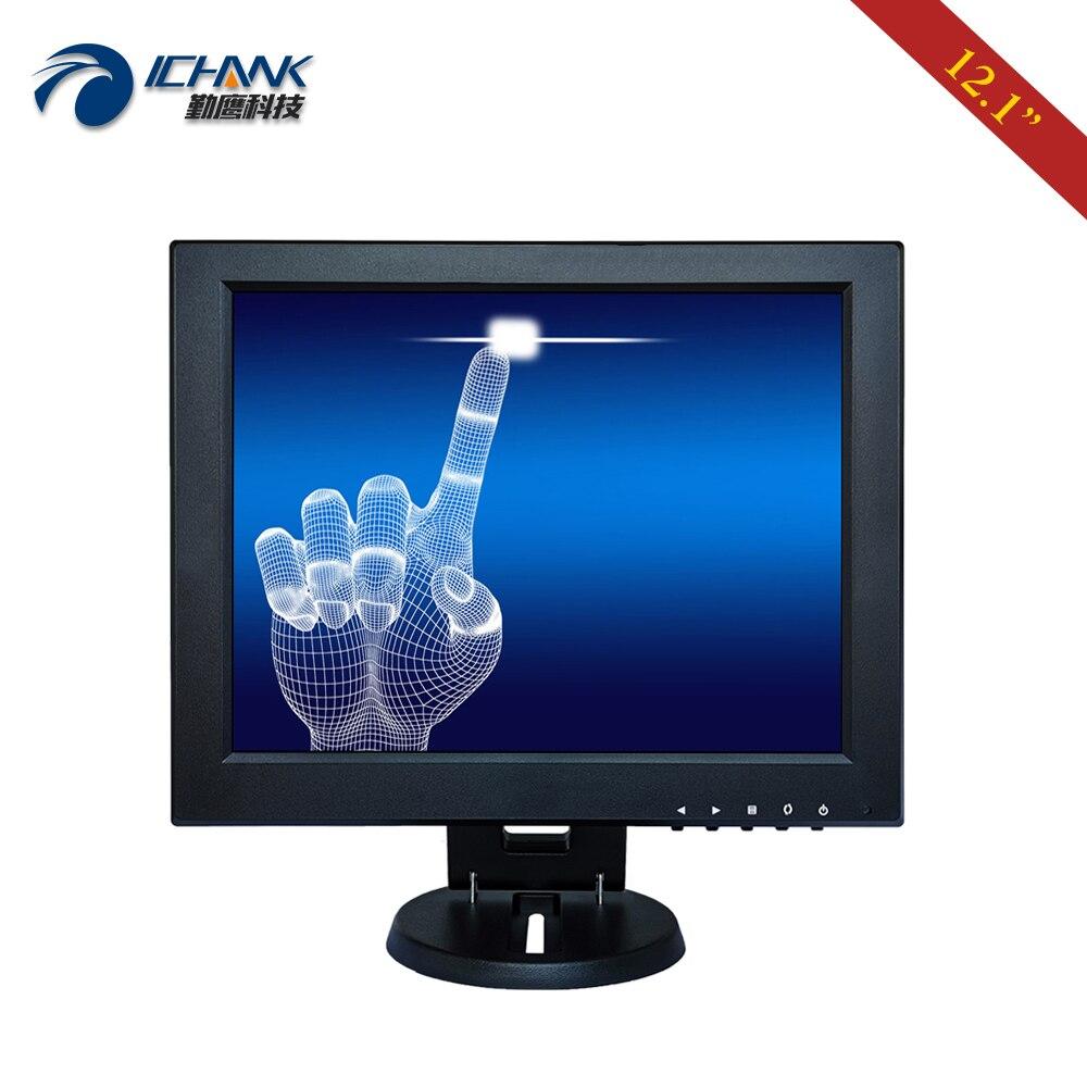 ZB120JC 591R/12 дюймов 800x600 USB HDMI VGA промышленный медицинский POS заказ ПК машина резистивный сенсорный ЖК экран монитор