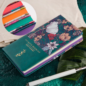 цена на Flower A6 Mini Diary Notebook Journal Agenda Planner Monthly Weekly Travel School Supplies Office Schedule Stationary