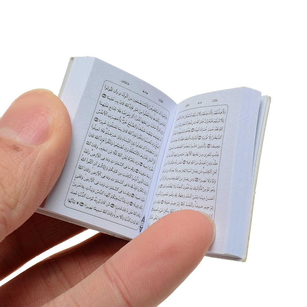 Mini Ark Koran Boek Koran Hanger Moslim Sleutelhanger Bag Purse Auto Decor Nieuw