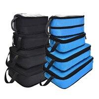 Soperwillton 2020 Neue Gepäck Verpackung Würfel Kompression Verpackung Tasche Nylon Reisetasche Männer Frauen Reise Verpackung Organisatoren #90034