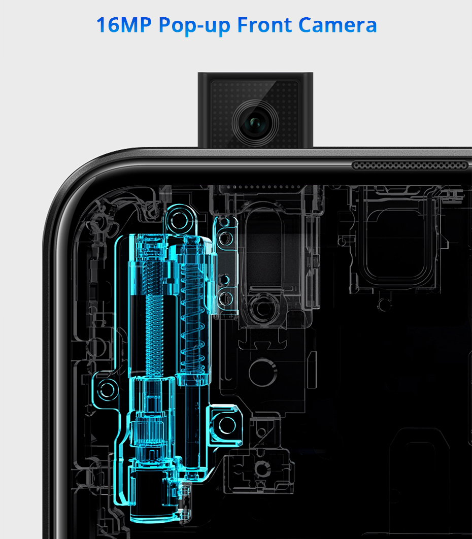 Honor 9X Pro 8GB 128GB 256GB Kirin 810 Liquid Cool Smartphone 48MP Triple Camera 6.59 Auto Pop Up Camera cellphone (12)