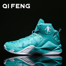 Basketball Shoes Men Sneakers Children Basket Shoes High Top Anti-slip Sports Shoes Trainers Women Retro Basketball Shoes Boys cheap QIFENG Medium(B M) Cotton Fabric hb512 ForMotion Lace-Up Spring2019 Fits true to size take your normal size Culture TOTEM