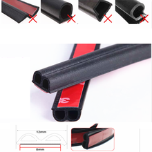New Car Door Seal Strip Noise Insulation Sticker FOR solaris renault duster kia rio x line touareg camry 40 tiguan 2019 bmw f10