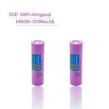 2021 New Original INR18650 35E 3.7V 3500mAh 20A discharge INR18650 35E 18650 Li-ion battery 3.7v rechargable Battery