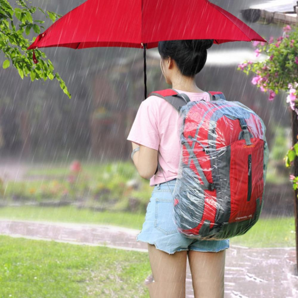 Disposable Backpack Cover Large Bike Bag Raincover Rucksack Pack Waterproof Rain Cover Dustproof Cover For Outdoor Tools