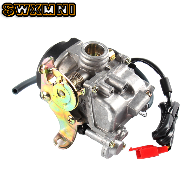 18mm <font><b>Carburetor</b></font> PD18J Carb Replaces For <font><b>GY6</b></font> <font><b>50cc</b></font> PD18J CVK 139QMB 139QMA Scooter ATV Car Motor Engine <font><b>Carburetor</b></font> Accessories image