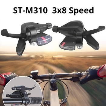 3×8-Speed Shift Lever Shifter Right Left Bicycle Derailleur for Acera SL-M310 Mountain Hybrid Bike Bicycle Parts