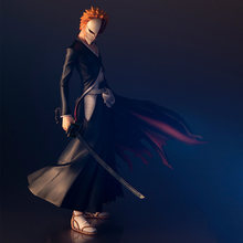 Tronzo Asli Bandai Megahouse G.e.m. Bleach Kurosaki Ichigo 10th Anniversary Ver PVC Action Figure Koleksi Model Boneka Mainan(China)