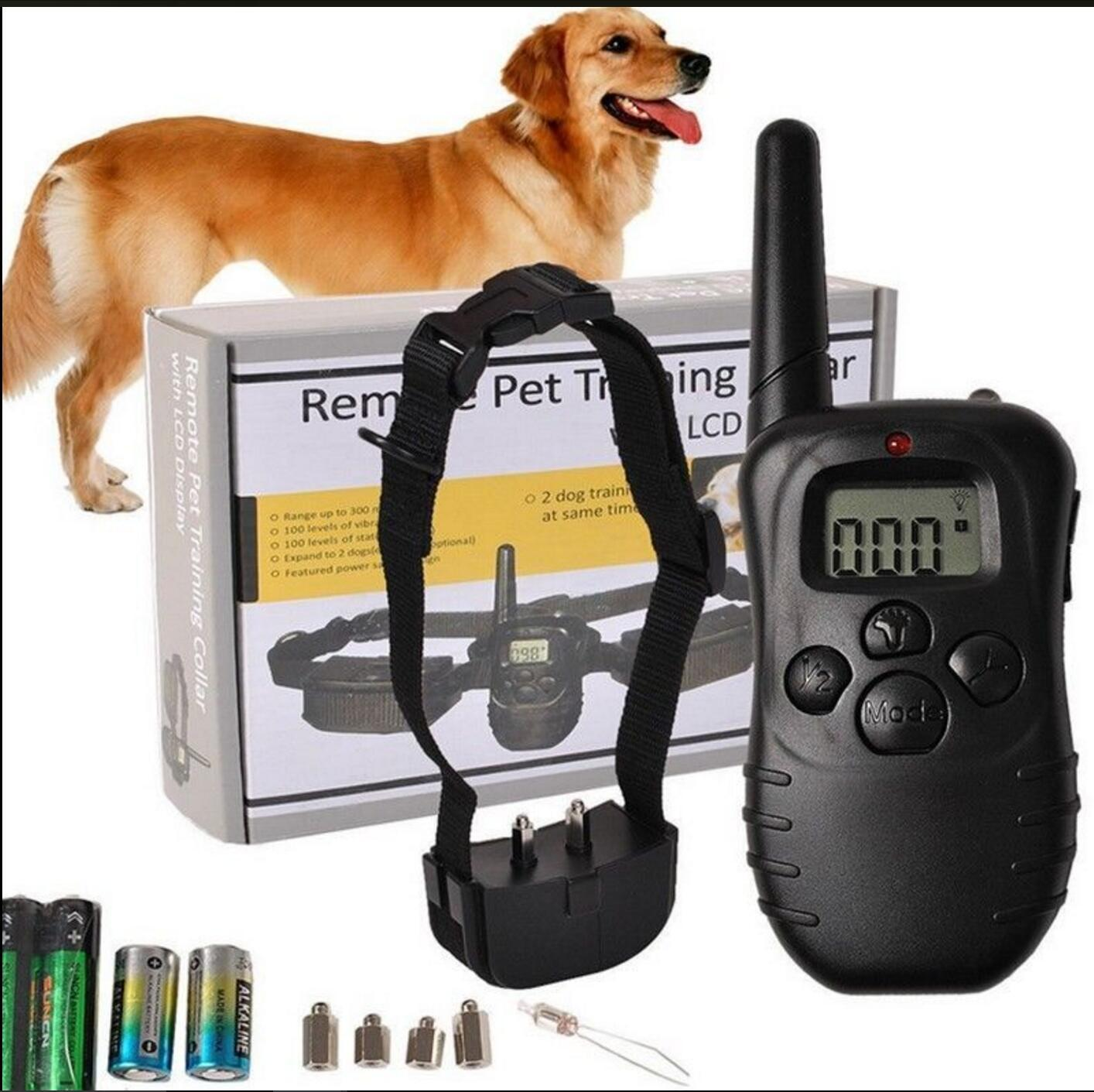 Remote Control Dog Trainer Vibration Electric Shock Neck Ring Zhi Fei Qi 300 M One To One Dog Remote Training