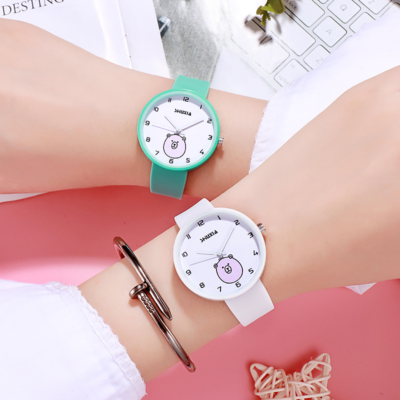 Women Watch For Kid Student Cheap Child Girl Cute Little Bird Kids Watches Baby Cartoon Toddler Children Pointer Quartz Watch