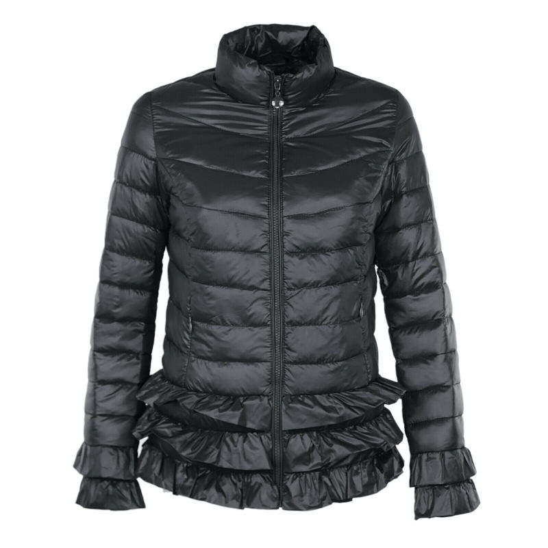 ZOGAA, зимняя парка, Женское пальто, женская теплая плотная куртка, Женская однотонная тонкая парка, повседневная, с воротником-стойкой, на мол...