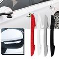 4 шт. двери автомобиля зеркалом заднего вида резиновые защитные насадки на края накладка защитный чехол с защитой от царапин защитная пленк...