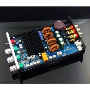 Image 2 - Усилитель сабвуфера KYYSLB 75WX2, 220 В, BA10C, TPA5613, 2,1 каналов, 300 Вт, общая выходная мощность, бытовой мини усилитель