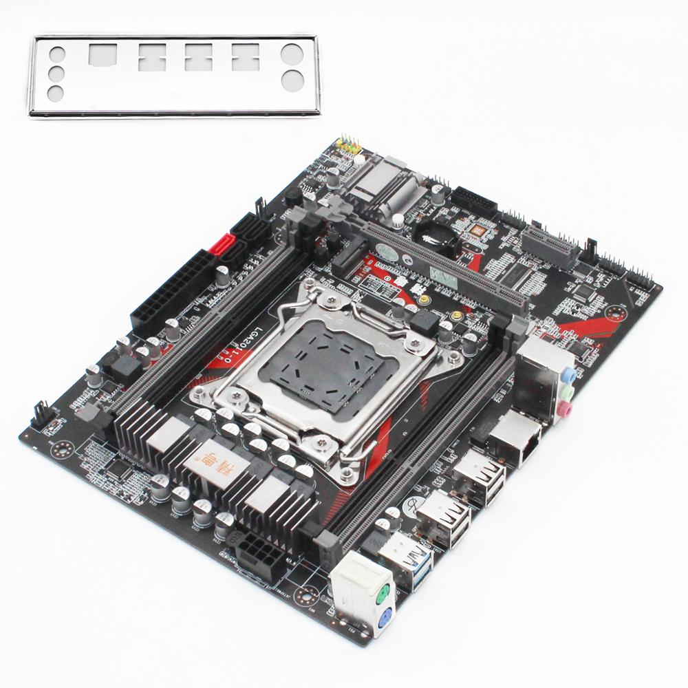 JGINYUE X79 motherboard LGA 2011 set kit with Xeon E5 2620 V2 processor and DDR3 16GB(4*4GB) REG ECC memory X79M PLUS 6