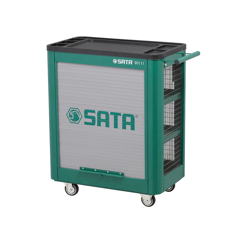 SATA 95111 For Tools. Trolley (635x390x800) 4 Shelves. Multifunctional Small Tools