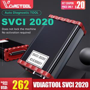 VDIAGTOOL Diagnostic-Scanner Odometer Correction Key-Programmer FVDI Commander Unlimited