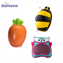 Sunveno Cute Carton Child Toddler Leash Backpack Baby Harness Backpack Keep Children Close and Safe in Crowds for Baby 1-3years sunveno оранжевый