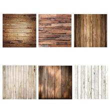 Wood Photo Background Photophone Pinewood Photography Backdrops Studio Shoots for Camera Photo Customized Size 60x60cm