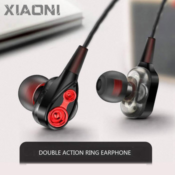 universal hifi music stereo headset sports headphone earphone mic for iphone samsung galaxy htc tablet pc mobie phones Moving Coil Iron 3.5mm Universal In-Ear Wired Earphone HiFi Stereo Music Headset With Mic For Xiaomi Huawei Samsung OPPO