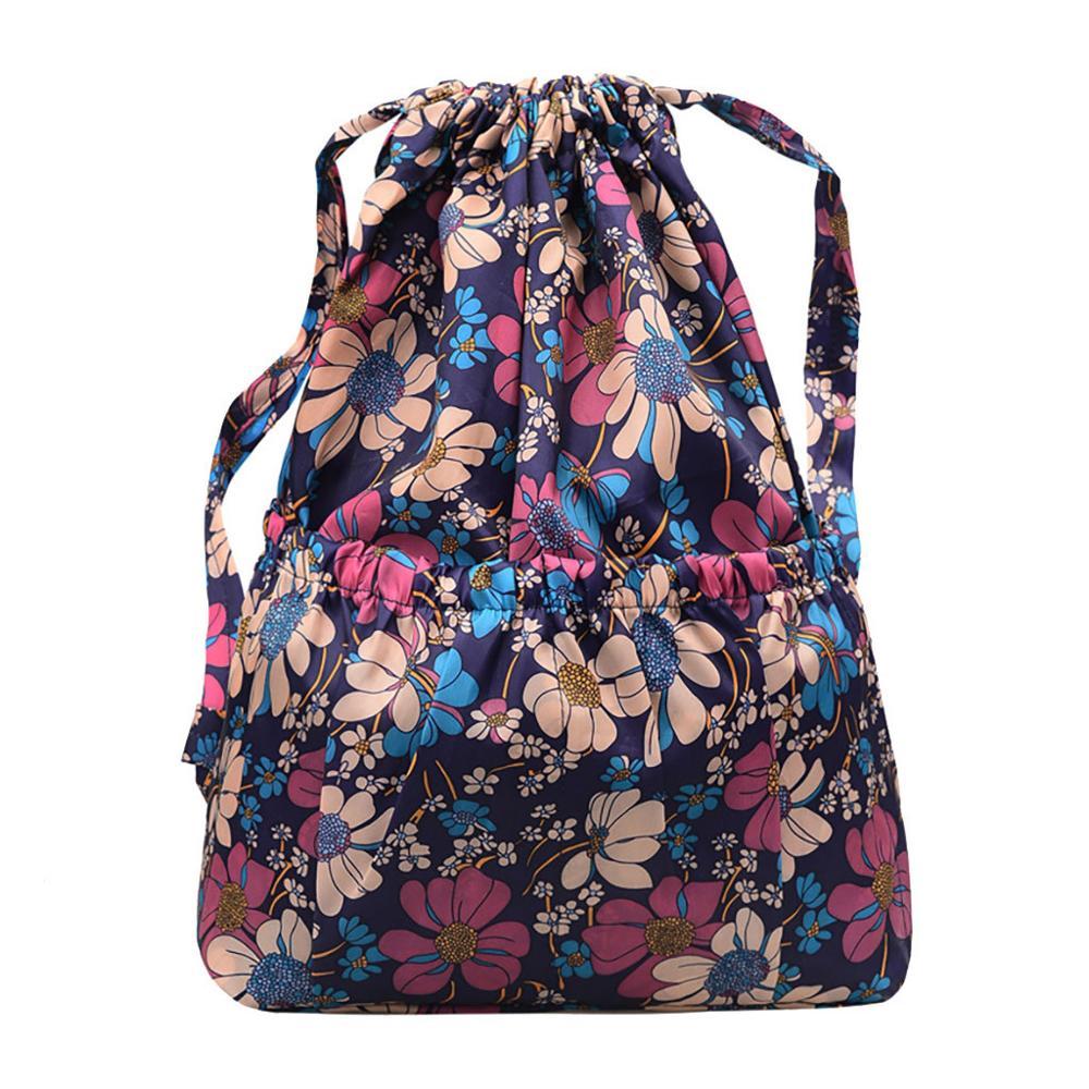 New Bag Pack Bags For Women 2019 Fashion Beach Bag Women Printed Casual Bag Leisure Bag Large-Capacity Travel Bag Bolsos Mujer@