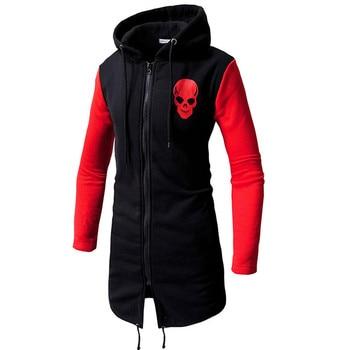 Crânio sweatshirts masculino campeão hoodie assassinos creed manga longa hoodie retalhos superm hip hop streetwear o-pescoço harajuku topo