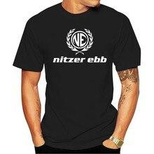 Camiseta de moda de lazer 2021 algodão camisa de moda de nitzer ebb expresso t-camisa tamanho impressão e cor escola 100%