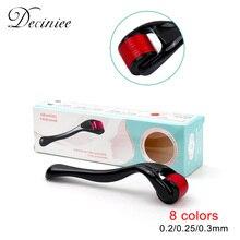 DRS 540 Derma Roller 0.2% 2F0.25% 2F0.3 Иглы Titanium Mezoroller Micro-Needling Roller для Кожи Уход Терапия Выпадение волос Лечение