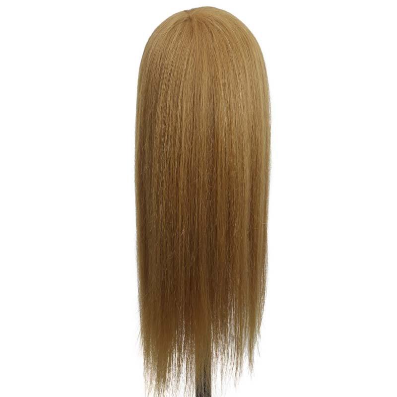 Профессиональная голова Манекен 85% натуральные человеческие волосы голова манекен голова с волосами обучающая голова манекен